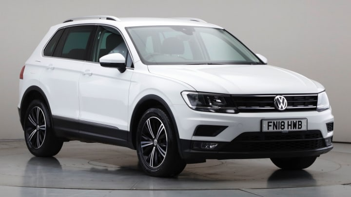 2018 Used Volkswagen Tiguan 1.4L SE TSI
