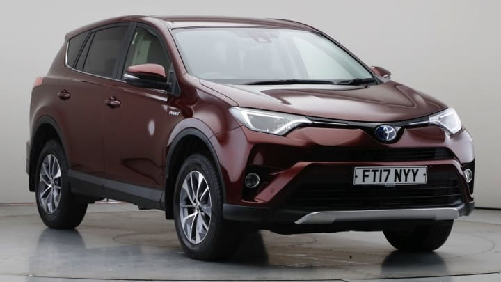 2017 Used Toyota RAV4 2.5L Business Edition Plus VVT-h