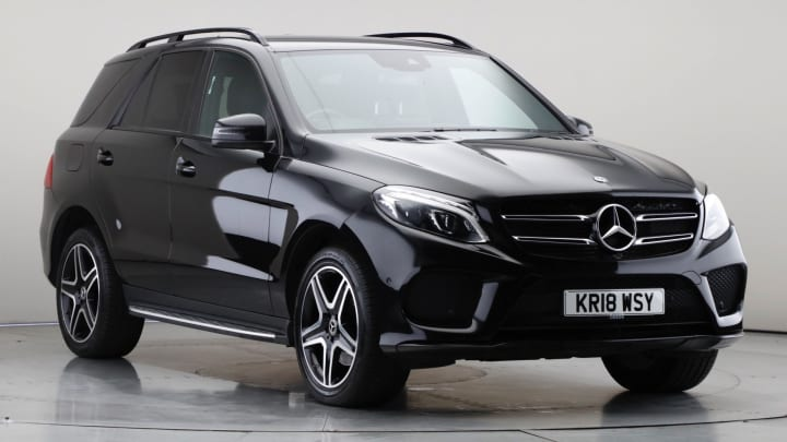 2018 Used Mercedes-Benz GLE Class 3L AMG Night Edition GLE350d V6