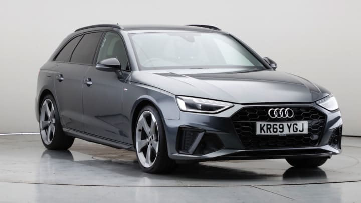 2020 Used Audi A4 Avant 2L Black Edition TFSI