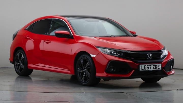 2017 Used Honda Civic 1L EX VTEC Turbo