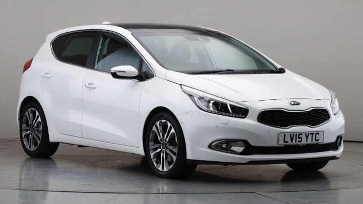 2015 Used Kia Ceed 1.6L 4 Tech CRDi