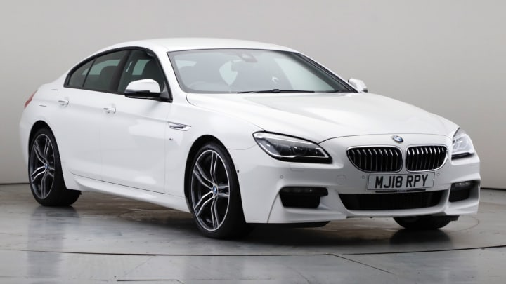 2018 Used BMW 6 Series Gran Coupe 3L M Sport 640d