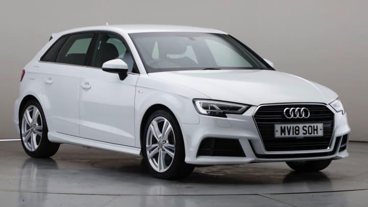 2018 Used Audi A3 1.5L S line CoD TFSI