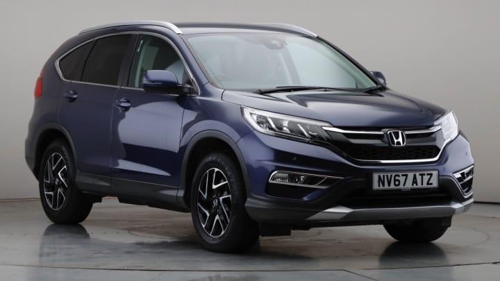 2017 Used Honda CR-V 1.6L SE Plus i-DTEC