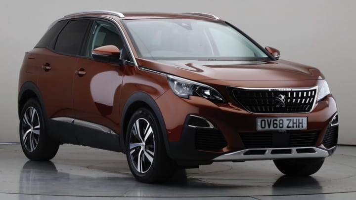 2019 Used Peugeot 3008 1.5L Allure BlueHDi