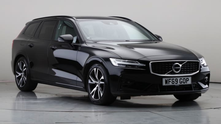 2019 Used Volvo V60 2L R-Design Plus T4