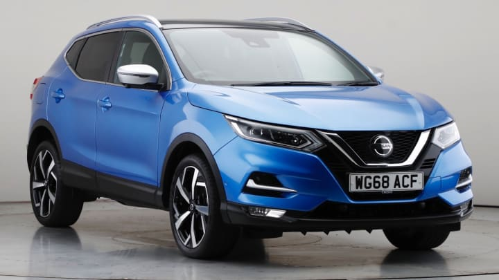 2018 Used Nissan Qashqai 1.3L Tekna+ DIG-T