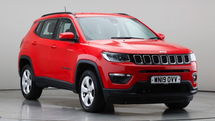 2019 Used Jeep Compass 1.4L Longitude MultiAirII T
