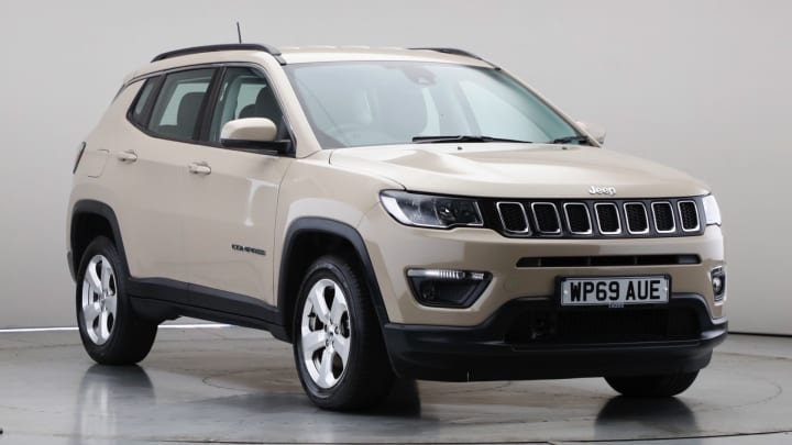 2019 Used Jeep Compass 2L Longitude MultiJetII