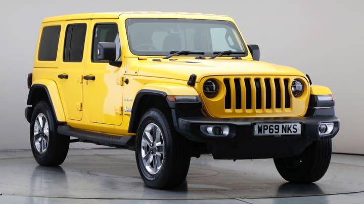 2019 Used Jeep Wrangler 2L Sahara GME