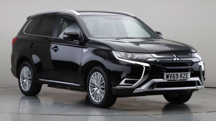 2019 Used Mitsubishi Outlander 2.4L Exceed h TwinMotor
