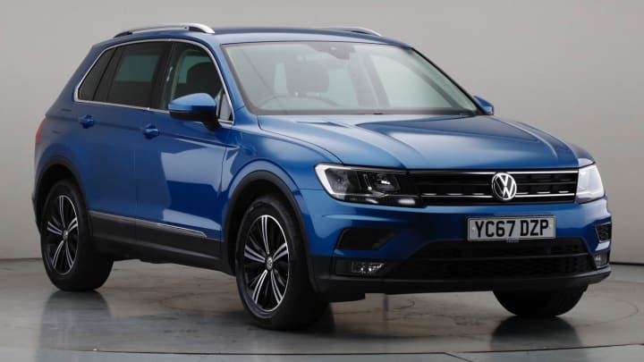 2017 Used Volkswagen Tiguan 1.4L SE Navigation TSI