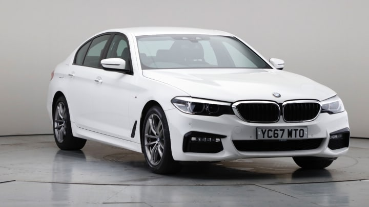 2017 Used BMW 5 Series 2L M Sport 520d