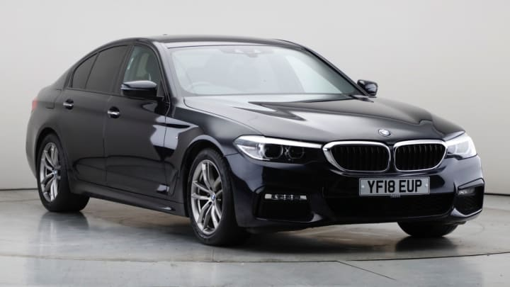 2018 Used BMW 5 Series 2L M Sport 520d
