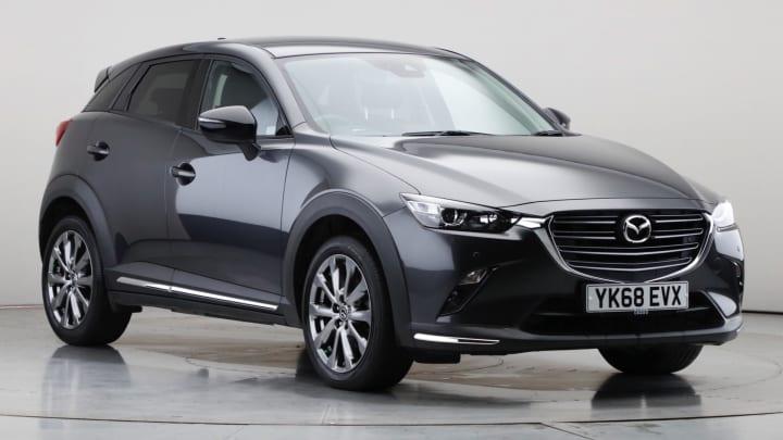 2018 Used Mazda CX-3 2L Sport Black+ SKYACTIV-G