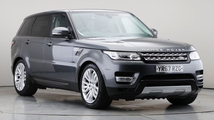 2017 Used Land Rover Range Rover Sport 3L HSE SD V6