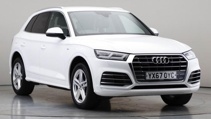 2017 Used Audi Q5 2L S line TDI