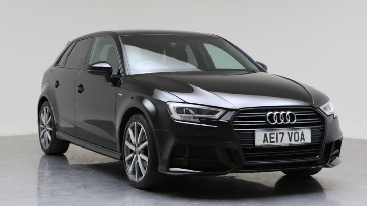 2017 Used Audi A3 1.4L Black Edition CoD TFSI