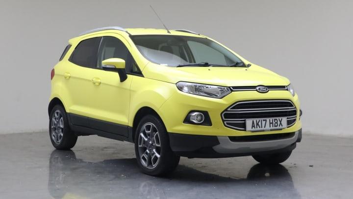 2017 Used Ford EcoSport 1.5L Titanium TDCi