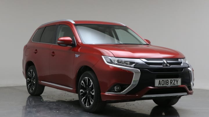 2018 Used Mitsubishi Outlander 2L Juro h