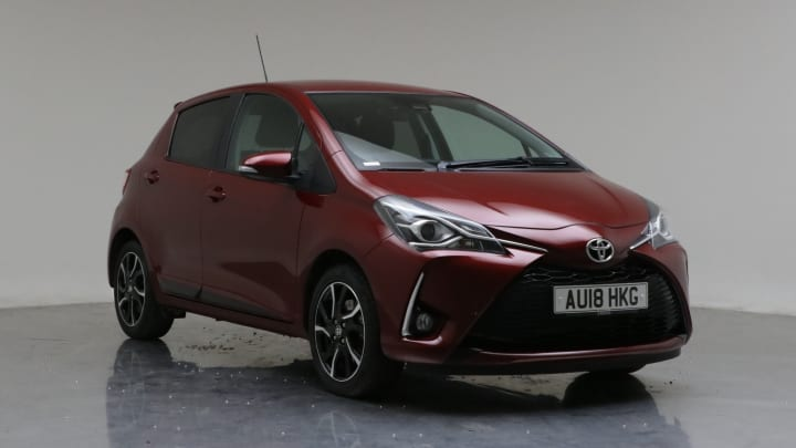 2018 Used Toyota Yaris 1.5L Design VVT-i