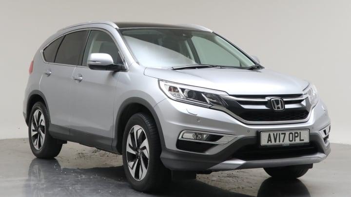 2017 Used Honda CR-V 1.6L EX i-DTEC