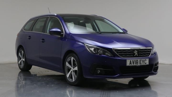 2018 Used Peugeot 308 SW 1.5L Allure BlueHDi