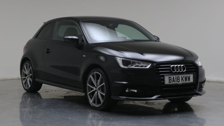 2018 Used Audi A1 1.4L Black Edition TFSI