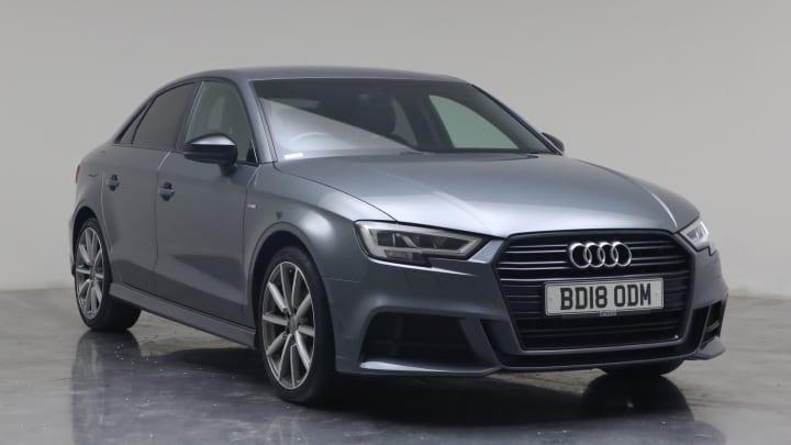 2018 Used Audi A3 1.6L Black Edition TDI