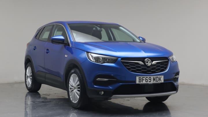 2019 used Vauxhall Grandland X 1.2L Tech Line Nav Turbo