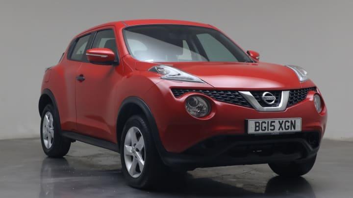 2015 Used Nissan Juke 1.6L Visia