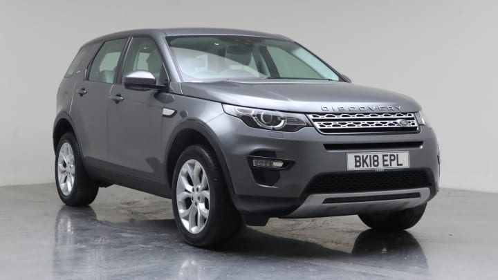 2018 Used Land Rover Discovery Sport 2L HSE TD4