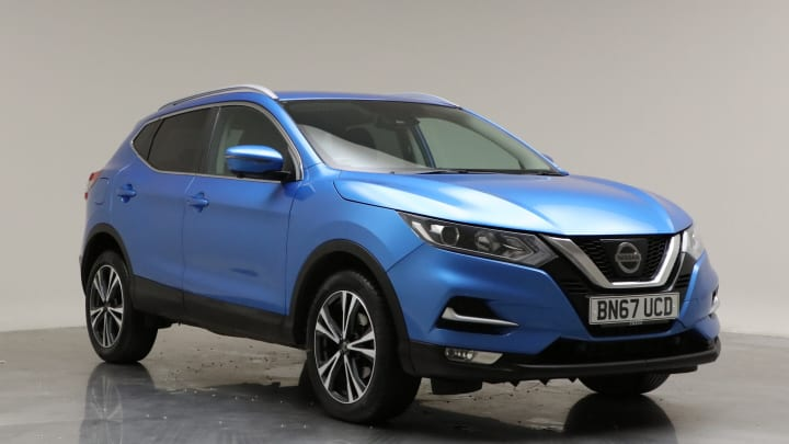 2017 Used Nissan Qashqai 1.2L N-Connecta DIG-T