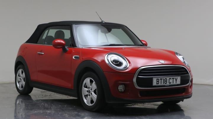 2018 used Mini Convertible 1.5L Cooper