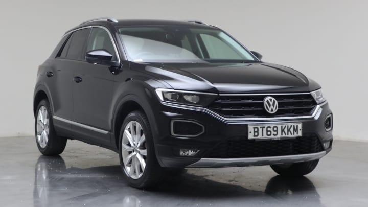 2020 used Volkswagen T-Roc 1.5L SEL TSI EVO