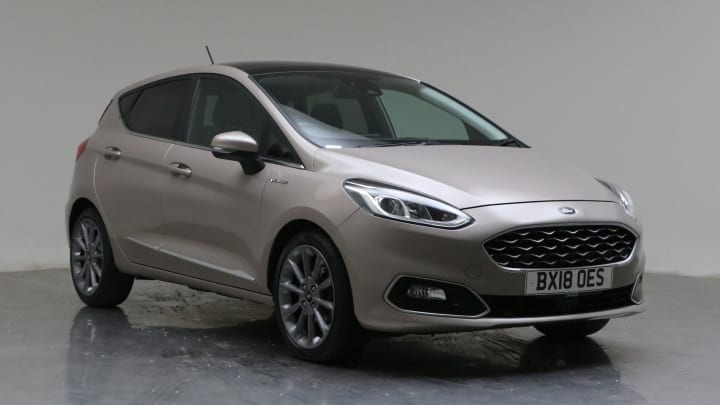 2018 Used Ford Fiesta 1L Vignale EcoBoost T