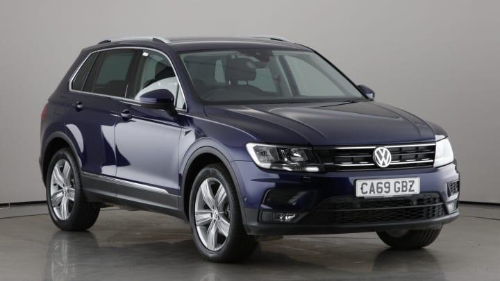 2019 used Volkswagen Tiguan 2L R-Line Tech TDI