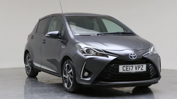 2017 Used Toyota Yaris 1.5L Excel VVT-h