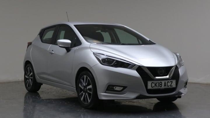 2018 Used Nissan Micra 0.9L Acenta IG-T
