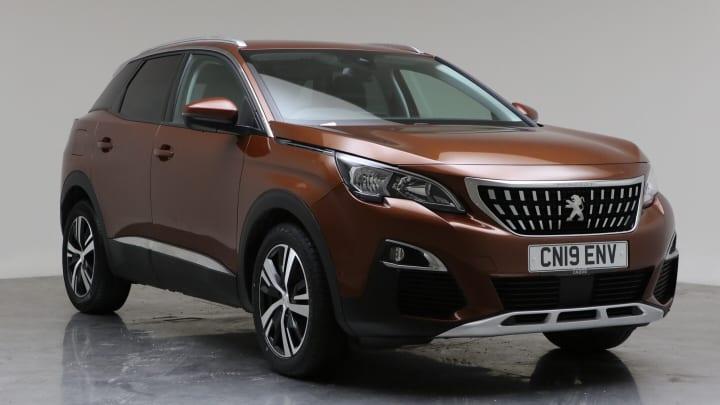 2019 Used Peugeot 3008 1.5L Allure BlueHDi