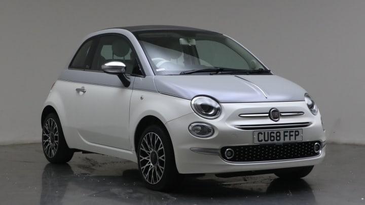 2018 Used Fiat 500C 1.2L Collezione 8V