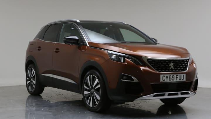 2019 Used Peugeot 3008 1.2L GT Line Premium PureTech