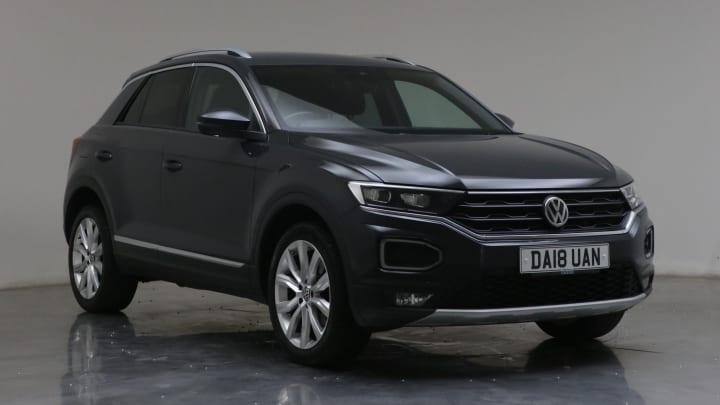 2018 used Volkswagen T-Roc 1.5L SEL TSI EVO