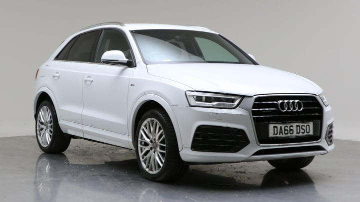 2016 Used Audi Q3 2L S line Plus TDI