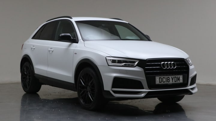 2018 Used Audi Q3 1.4L Black Edition CoD TFSI