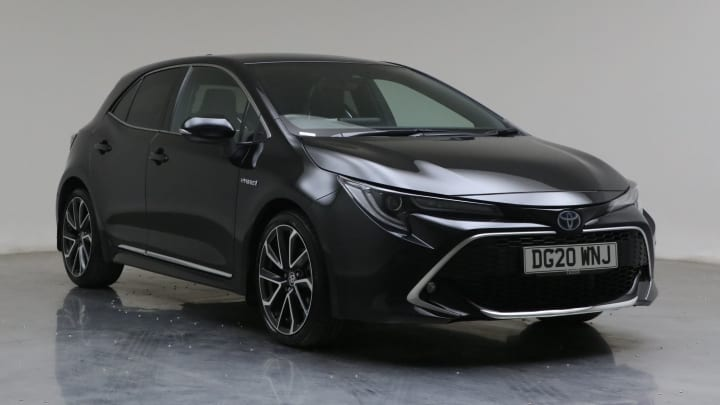 2020 Used Toyota Corolla 1.8L Excel VVT-h