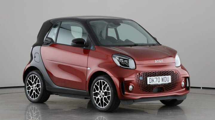 2020 used Smart fortwo Prime Exclusive