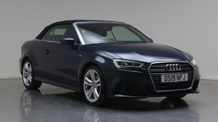 2019 used Audi A3 Cabriolet 1.5L S line CoD TFSI