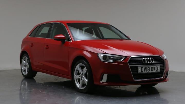 2018 Used Audi A3 1.5L Sport CoD TFSI